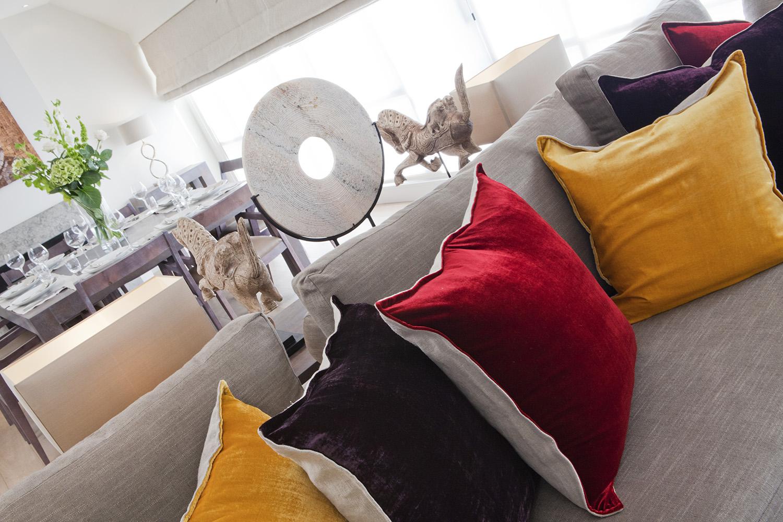 Design Box London - Interior Design - Marble Arch Penthouse, W1 - Living Room