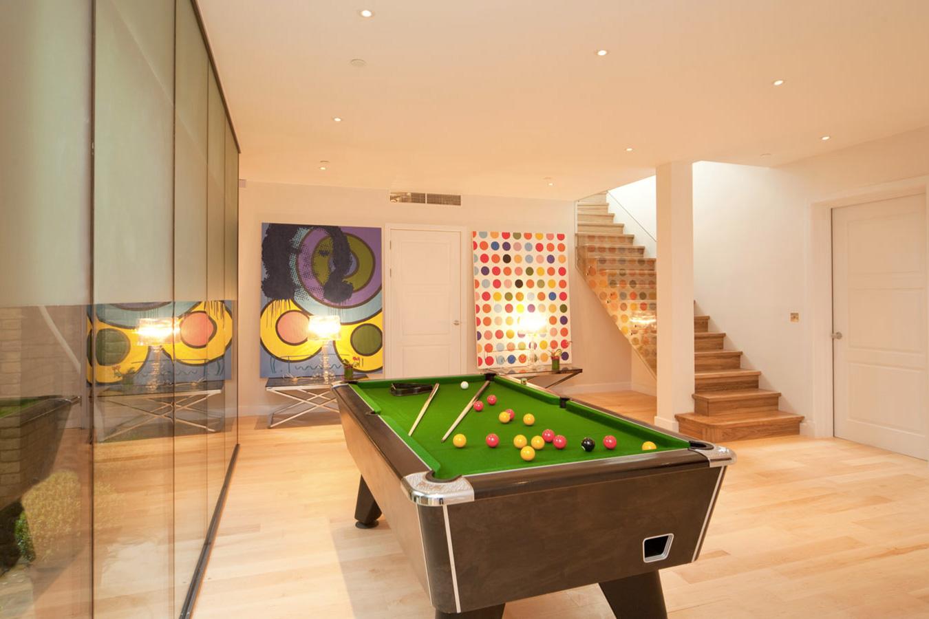 Design Box London - Interior Design - Richmond Park Home, TW10 - Games Room
